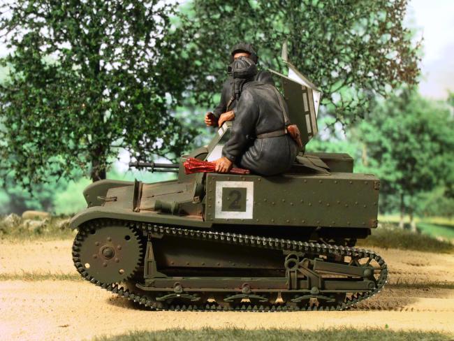 Militaria1/35,Plasticard e tanque de PE!!! 05