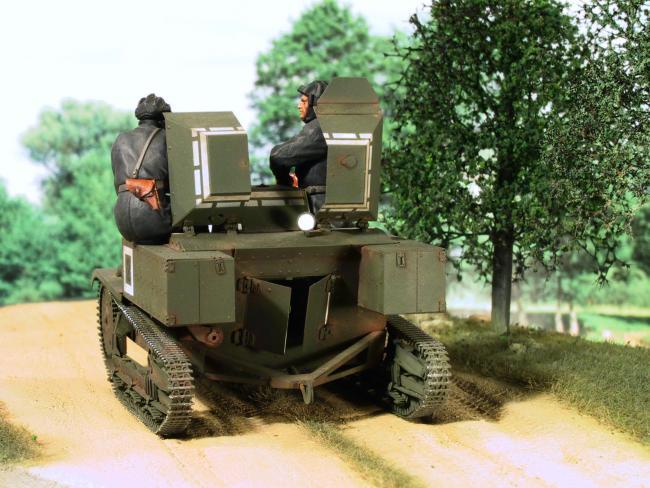 Militaria1/35,Plasticard e tanque de PE!!! 07