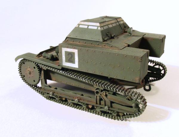 Militaria1/35,Plasticard e tanque de PE!!! 10